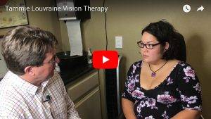 screenshot of vision therapy video